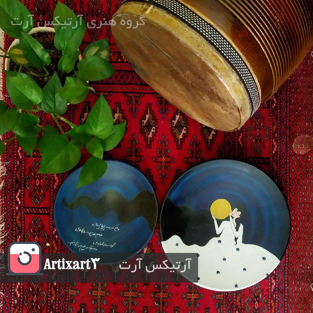طراحی بشقاب های دیوارکوب آرتیکس آرت