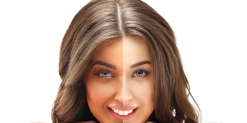 موثرترین روش روشن کردن پوست